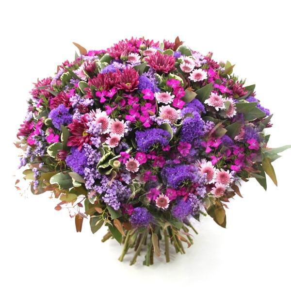 זר פרחים געגועים