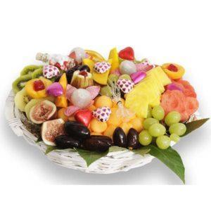 סלסלת פירות אהבה