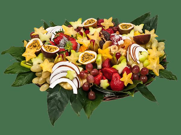 סלסלת פירות שרמנטית