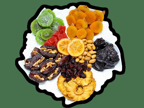 משלוח פירות יבשים